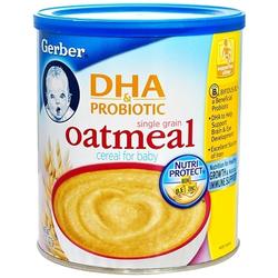 嘉宝Gerber米粉DHA+益生菌燕麦米粉 227g