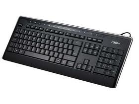 富勒 L455有线多媒体炫光键盘