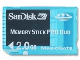 SanDisk Gaming Memory Stick PRO Duo 2GB